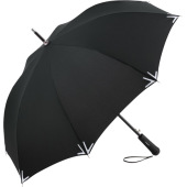 AC regular umbrella Safebrella® LED - black