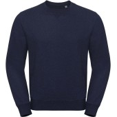 Authentic crew neck melange sweatshirt indigo melange s