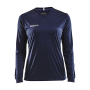 Craft Squad solid jersey LS wmn navy xxl