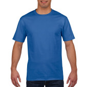 Gildan T-shirt Premium Cotton Crewneck SS for him Royal Blue M