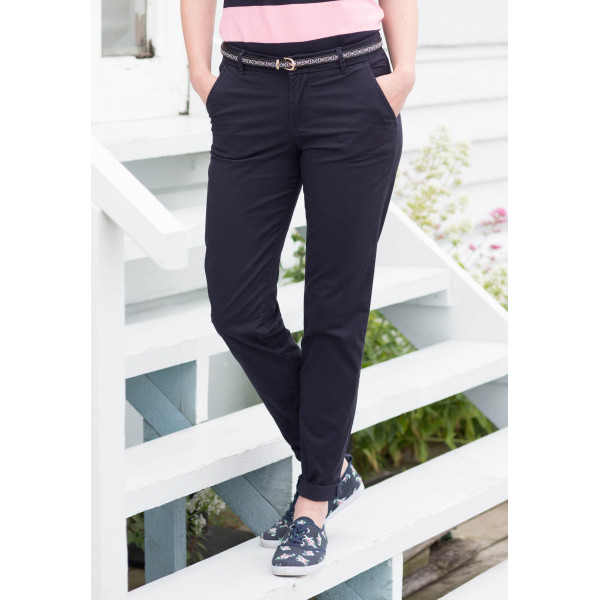 Ladies' stretch chino trousers