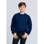 Gildan Sweater Crewneck HeavyBlend for kids Graphite Heather XL