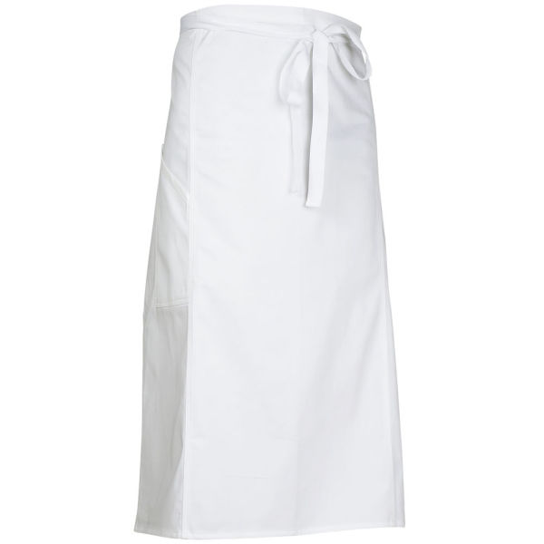 7802 APRON COLLAR WHITE S