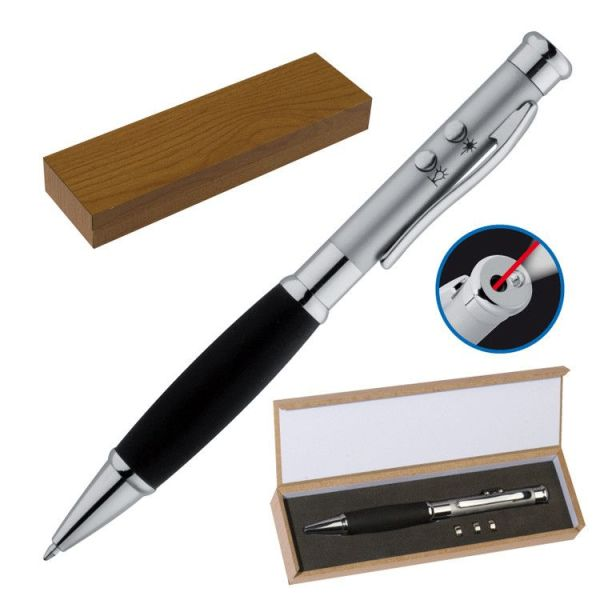 3-in-1 pen met softgrip