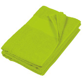 Badhanddoek lime one size