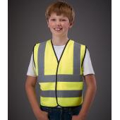Kids Hi-Vis Two Band and Braces Waistcoat