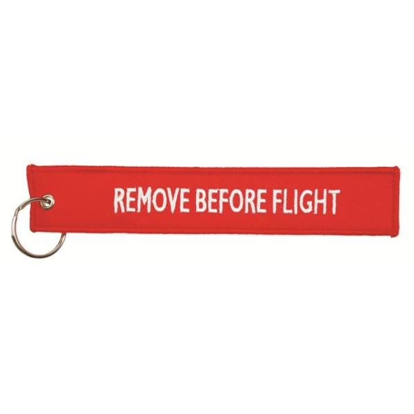 Hangtag 'Remove Before Flight'