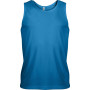 Herensporttop aqua blue 3xl