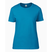 Premium cotton® ring spun semi-fitted ladies' t-shirt