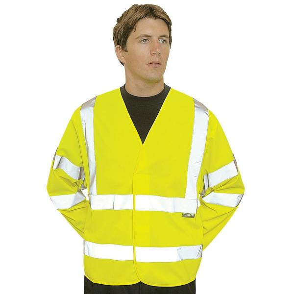 Hi-Vis Two Band and Braces Jacket
