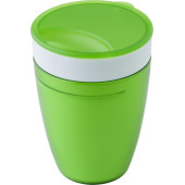 2-in-1 drinkbeker lime