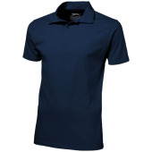 Let short sleeve men's jersey polo