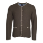 Men's Traditional Knitted Jacket bruin-melange/beige/royal