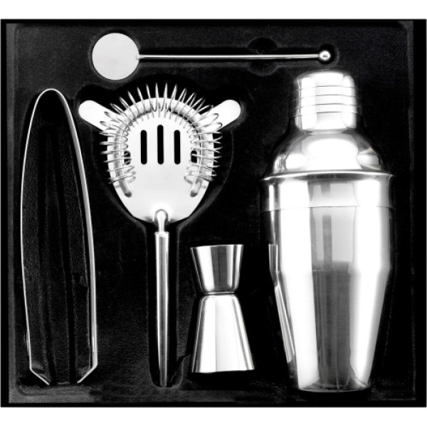 Stainless steel cocktail set