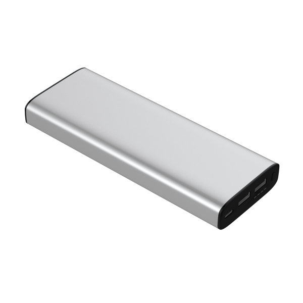 Digital Nomad PD Laptop Powerbank - silver