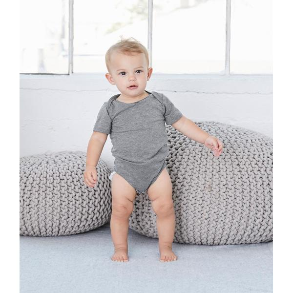 Bella Baby Tri-Blend Short Sleeve Bodysuit