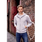 Authentic full zip hooded sweatshirt