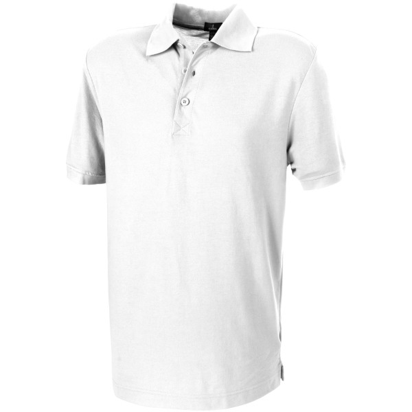 Crandall short sleeve men's polo