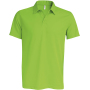 Herensportpolo lime xs
