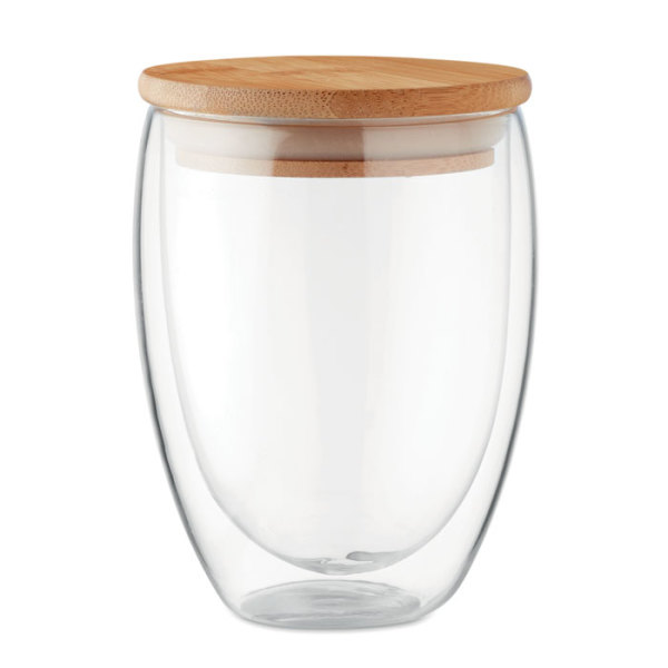 TIRANA MEDIUM - Dubbelwandig drinkglas 350ml