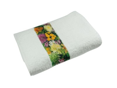 Sophie Muval Towel with Polyester Border, 100x50cm