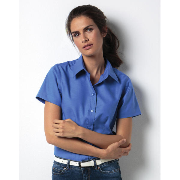Women's Tailored Fit Workwear Oxford Shirt SSL