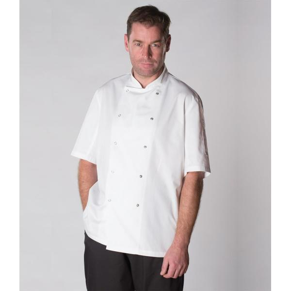 Short Sleeve Coolmax® Chef's Jacket