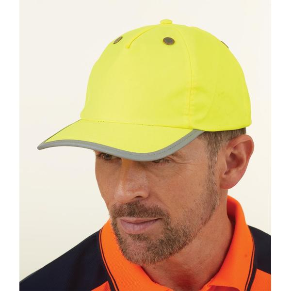 Hi-Vis Safety Bump Cap