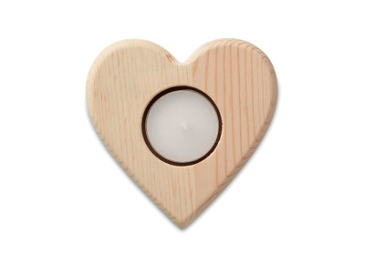 TEAHEART - Heart shaped candle holder