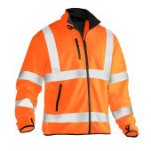Jobman 5101 Hi-vis light softshell jacket oranje 3xl