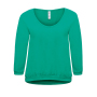 3/4 Sweat Rising Sun Women XL Pacific Green