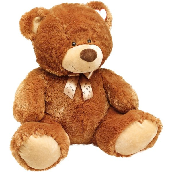 "plush-bear ""Gunnar"" big size, w. ribbon"