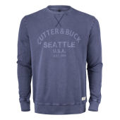 Cutter & Buck Thorp Denim Crew Men