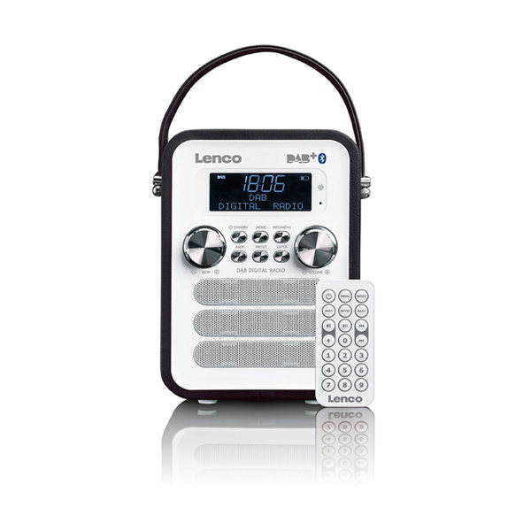 Lenco BT/DAB+/FM Radio - black