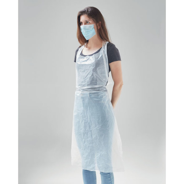 APRONBAG - 100 disposable aprons in bag