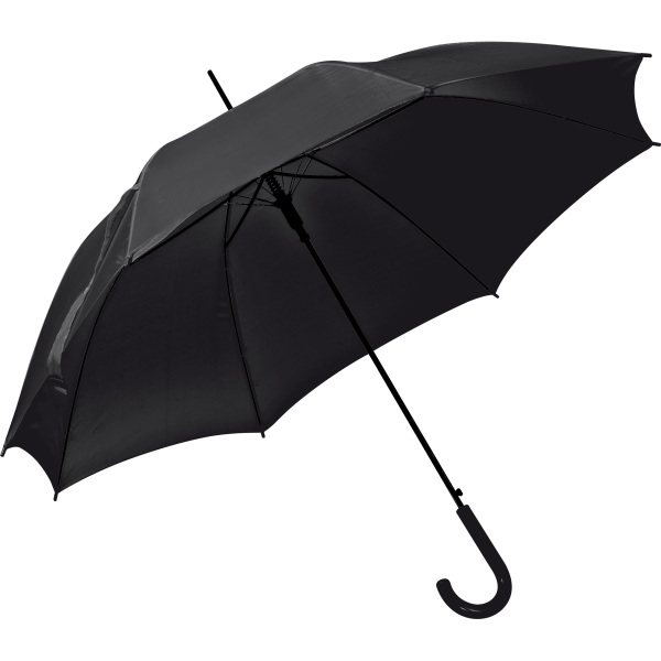 Automatic umbrella, plastic handle