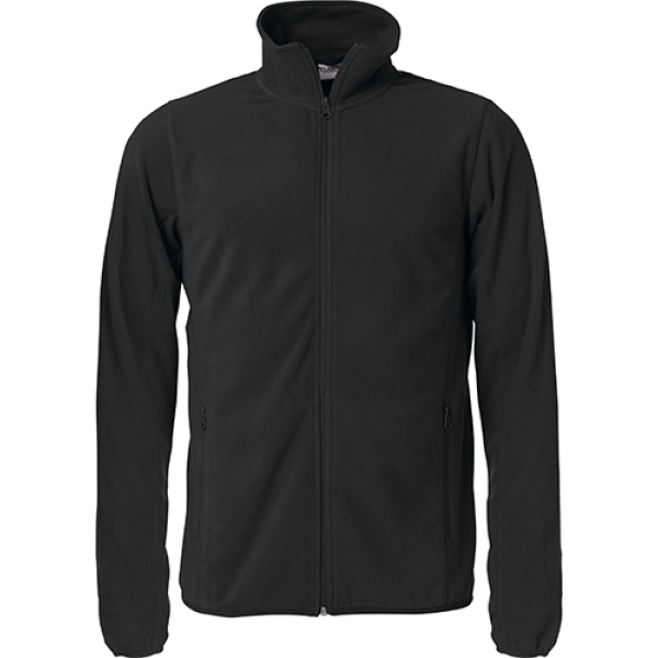 Bedrukt fleece jacket