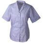 Ladies' Business Blouse Short-Sleeved lila