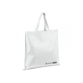 R-PET tas, 38x42 (wit)