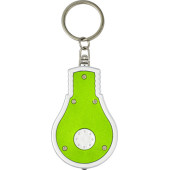 ABS 2-in-1 sleutelhanger lime
