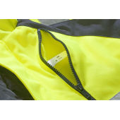 6409 LINED JACKET HV YELLOW XS
