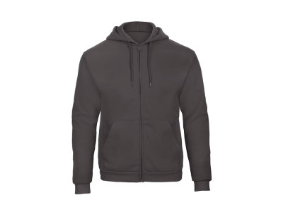 HOODED FULL ZIP SWEAT UNISEX - Hooded sweat men