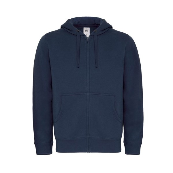 B&C Hooded Full Zip men