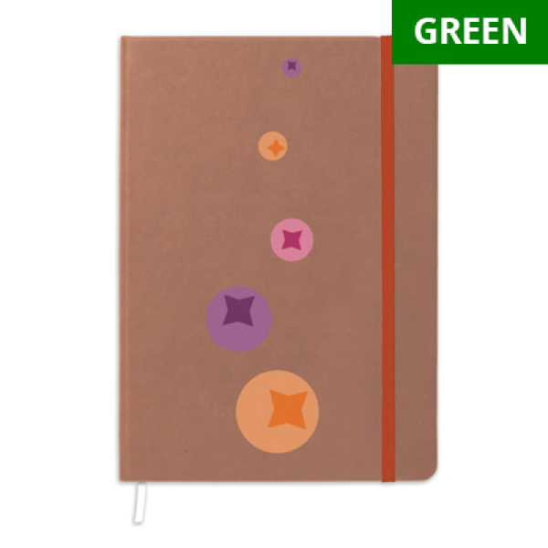 Recycled Paper cover notebook