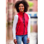 Ladies Softshell Gilet, Classic Red, M, RUS