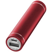 Bolt alu powerbank 2200mAh - Rood