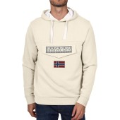 Burgee sum 3 sweater met capuchon new milk xs