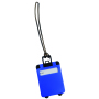 "Luggage tag ""Wanderlust"", blue"