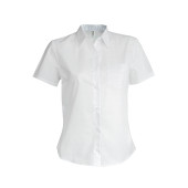Ladies' short-sleeved oxford shirt