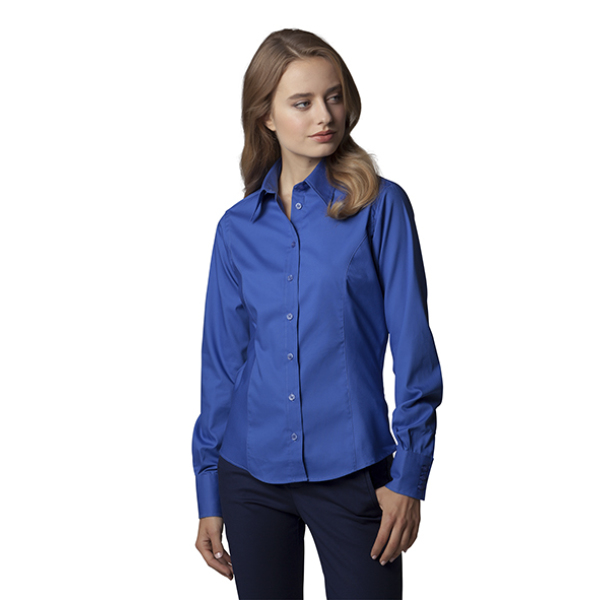 Ladies Corporate Oxford Blouse LS